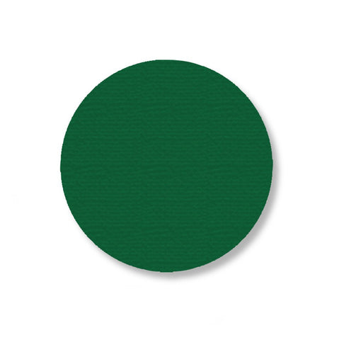 3.5 Green Solid Floor Tape Dot - Stand. Size Pack Of 100 Product
