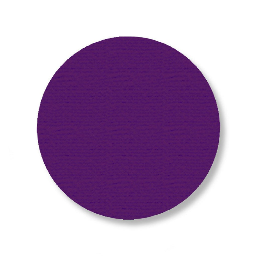 3.75 Purple Solid Floor Tape Dot - Pack Of 100 Product