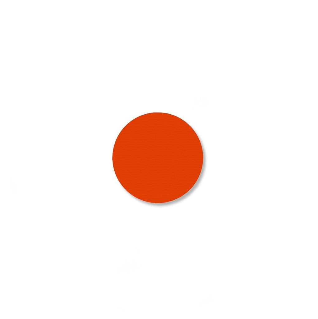 3/4 Orange Solid Dot - Pack Of 200 Product