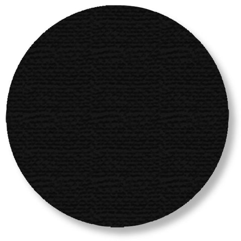 5.7 Black Solid Floor Tape Dot - Pack Of 50 Product