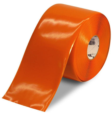 6 Orange Floor Tape - 100 Roll Product