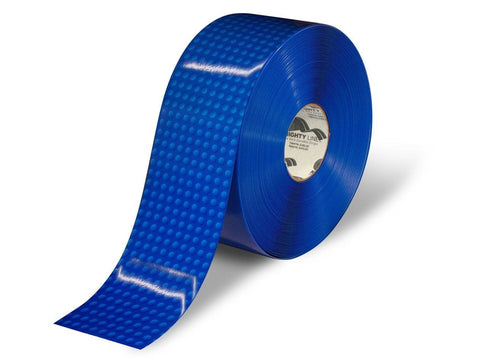 4 Blue Brick Safety Floor Tape - 100 Roll Product