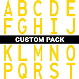Die Cut Location Markers - 4.5 X 10 Custom Pack Of 50 Product