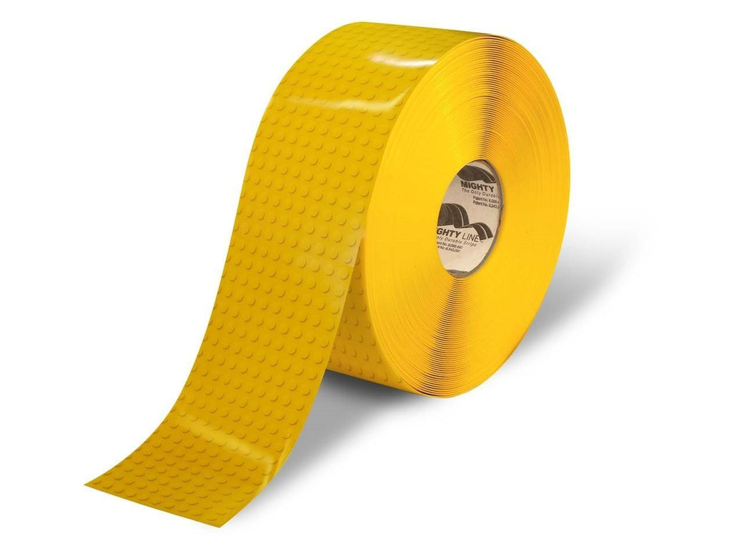 2 Yellow Brick Safety Floor Tape - 100 Roll Product