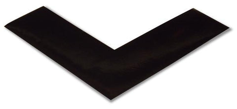 2 Black 5S Floor Tape Angle - Safety Product
