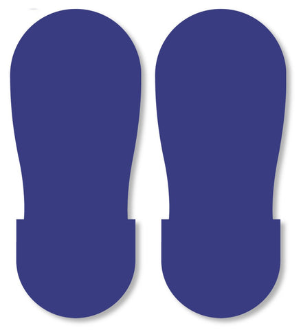 Blue Big Footprint - Pack Of 50 Product