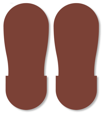 Brown Big Footprint - Pack Of 50 Product