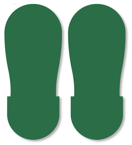 Green Big Footprint - Pack Of 50 Product