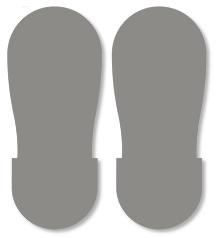 Gray Big Footprint - Pack Of 50 Product