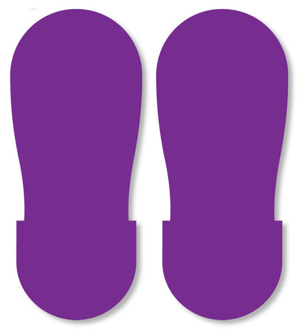 Purple Big Footprint - Pack Of 50 Product