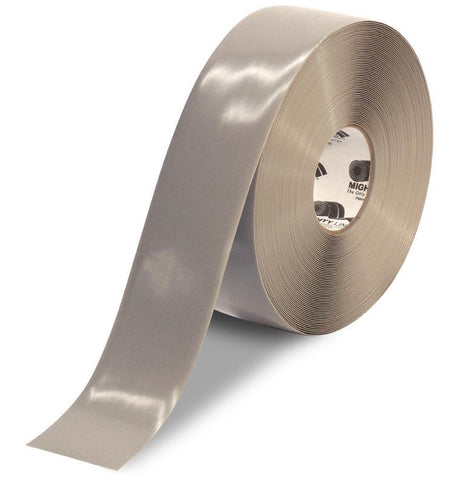 3 Gray Solid Color Tape - 100 Roll Product