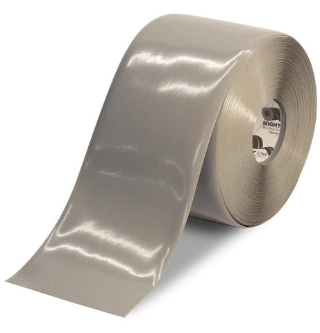 6 Gray Solid Color Tape - 100 Roll Product