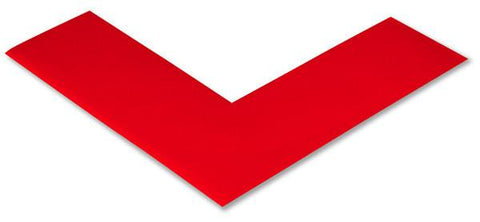 2 Wide Solid Red 5S Floor Tape Angle - Pack Of 25 Product