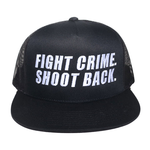 Crime Mesh Trucker Hat
