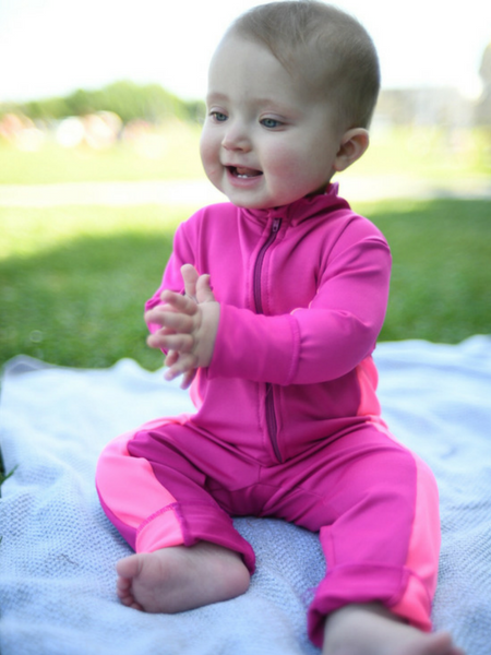 Mommy Connections Reviews Our UV50 Swimsuits.