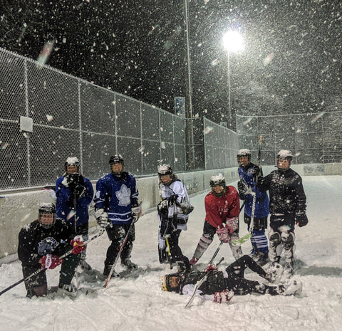 High Park hockey gang