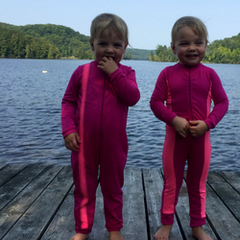 UPF 50 full body swimsuits for children