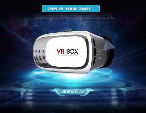 VR Box 2.0 + Gamepad Virtual Reality 3D Glasses Helmet VR BOX Headset For Smartphone 3.5 inch ~ 6 inch