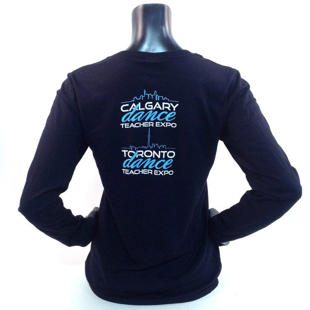 Dance Attack Long Sleeve Back
