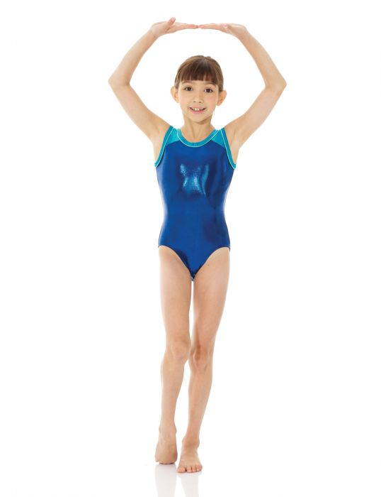 Metallic Gym Leotard