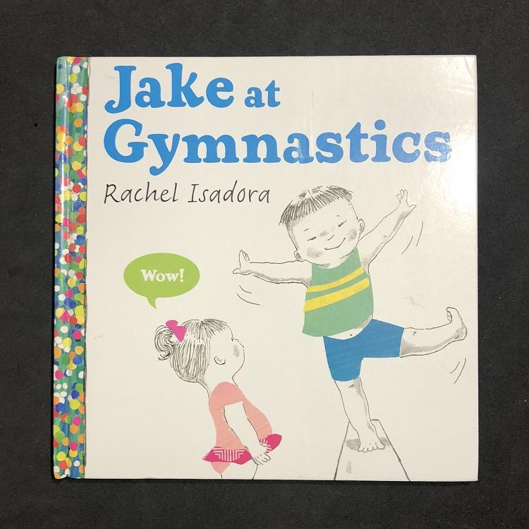 Jake at Gymnastics Book
