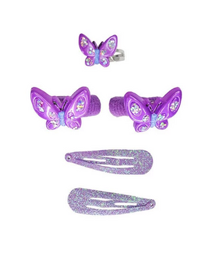 Wing and Wiggle Ring and Hair Set