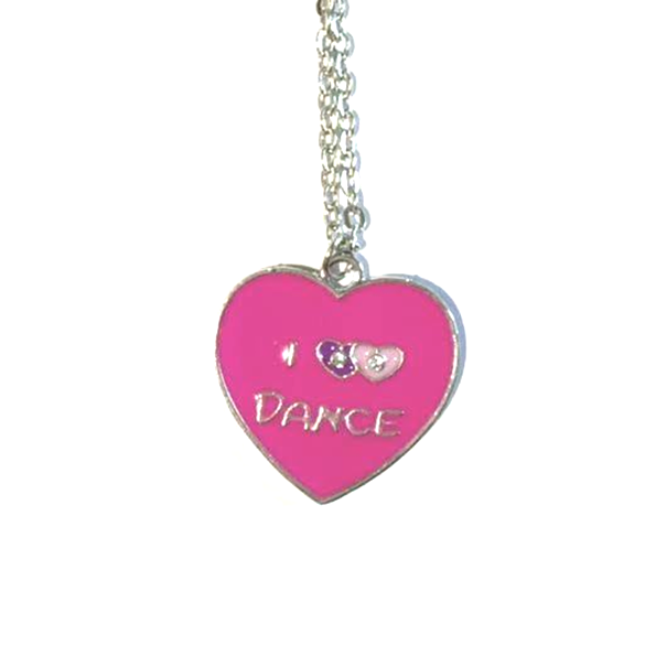 Dance Heart Neckace