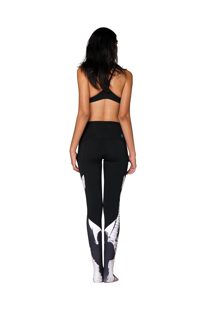 Oracle Swoosh Leggings - Adult