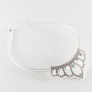Tiara Headband with AB Crystals
