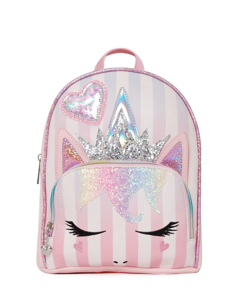Miss Gwen Party Stripe Mini Backpack
