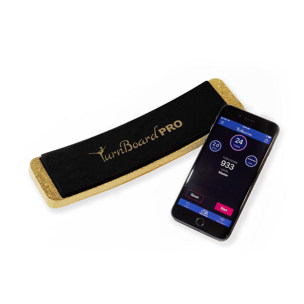 The Turnboard PRO - Gold Glitter