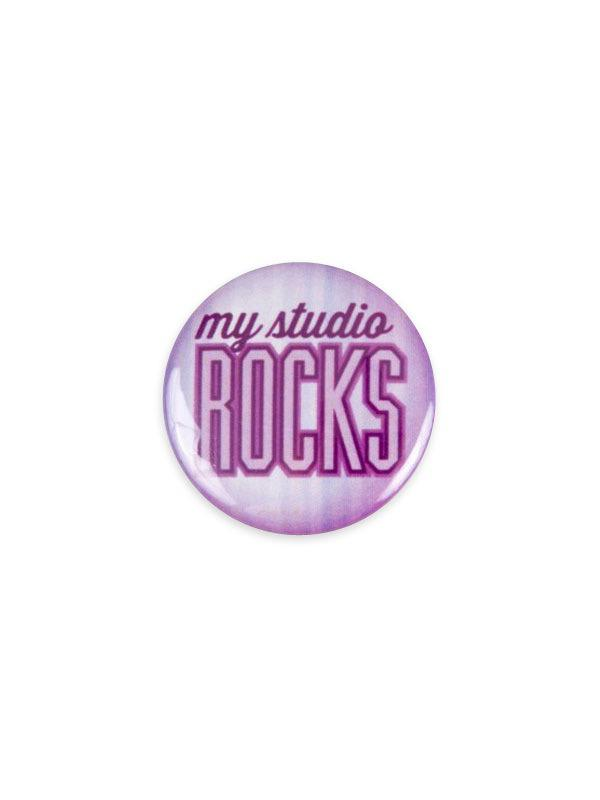 My Studio Rocks Button