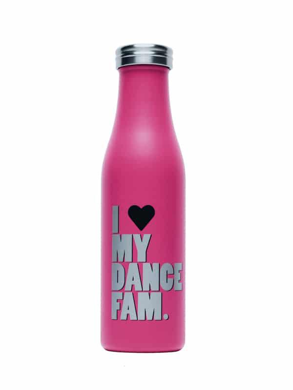 Dance Fam Water Bottle - Magenta