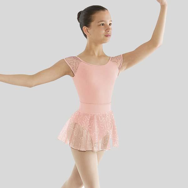 Ombre Sequin Bow Back Leotard - Child