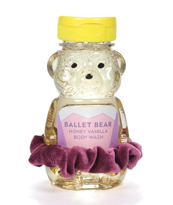 Ballet Bear Body Wash - Dark Pink Scrunchie