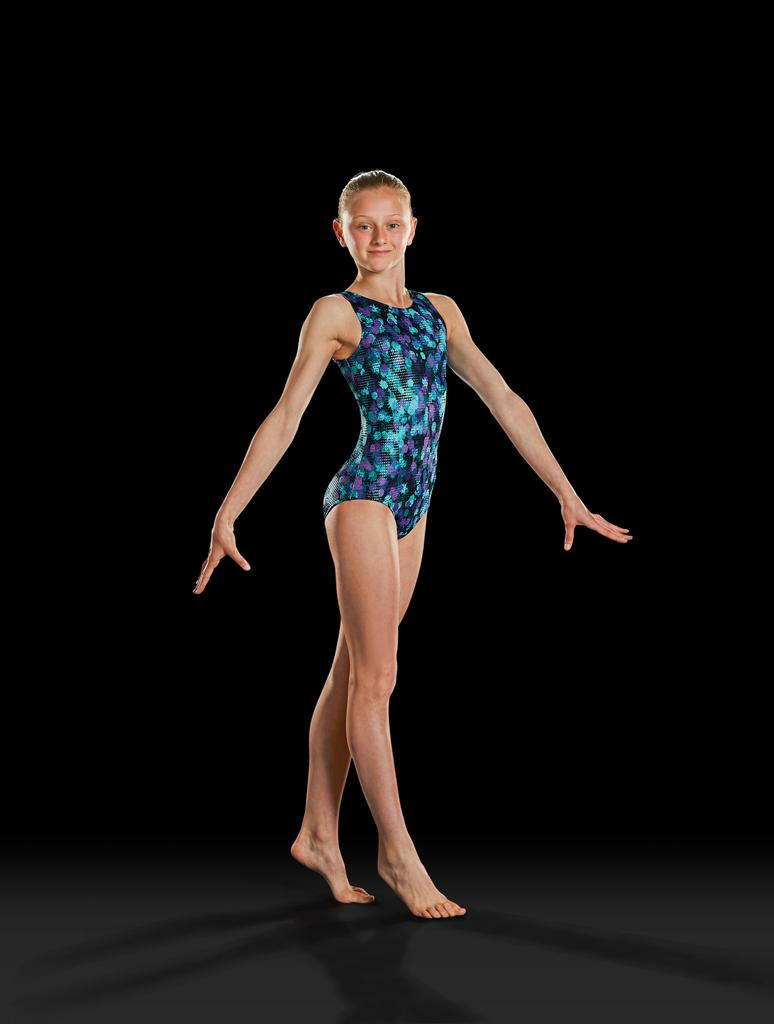 Gymnastics Tank Leotard - Adult