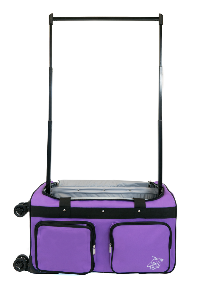 Rac N Roll 4x Dual Wheel Bag, Medium, Purple