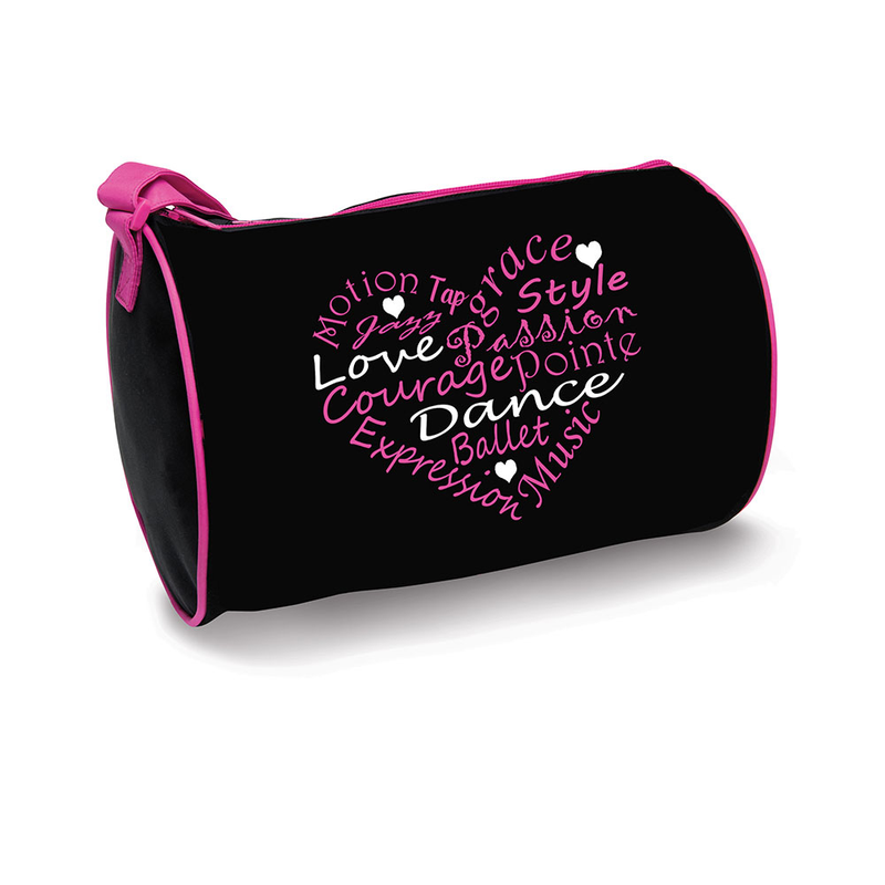 Dance Word Heart Duffle