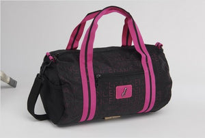 Punch Hole Dance Duffle - Pink