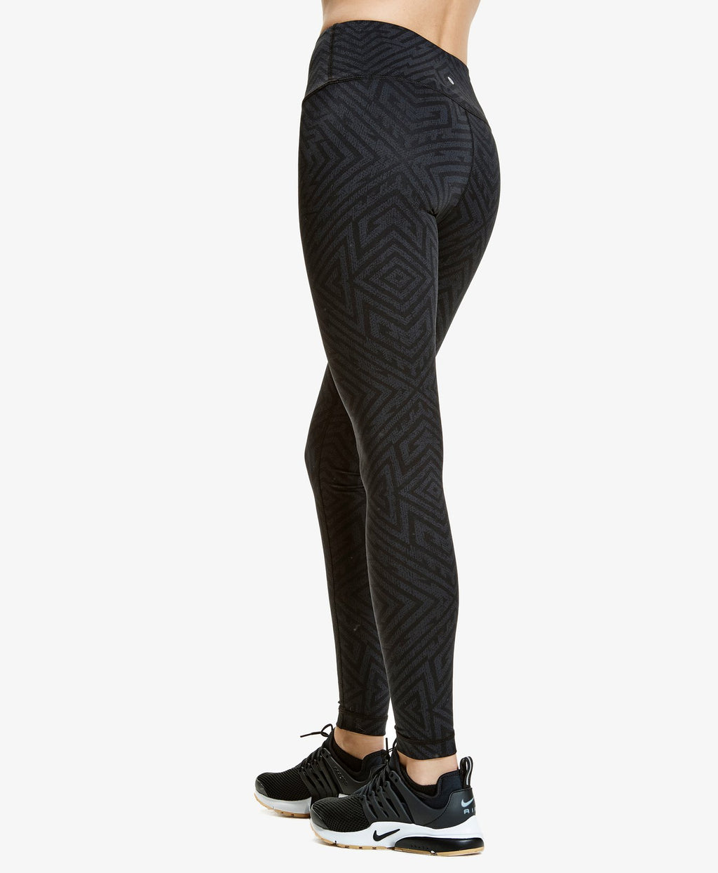 Aztec High Waist Leggings - Adult