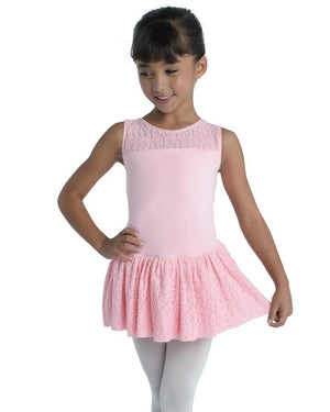 Brushed Lace Dress - Child