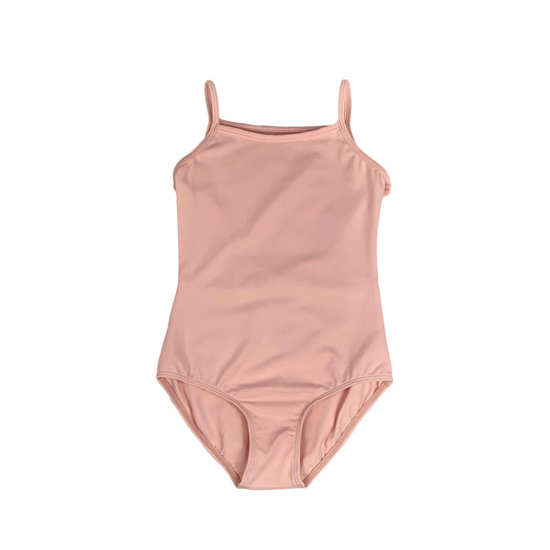 Mesh Back Cami Leotard - Child