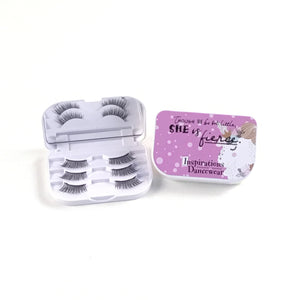 Luxury Lash Case with 3 Pairs of Lashes - Unicorn