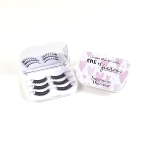 Luxury Lash Case with 3 Pairs of Lashes - Hearts