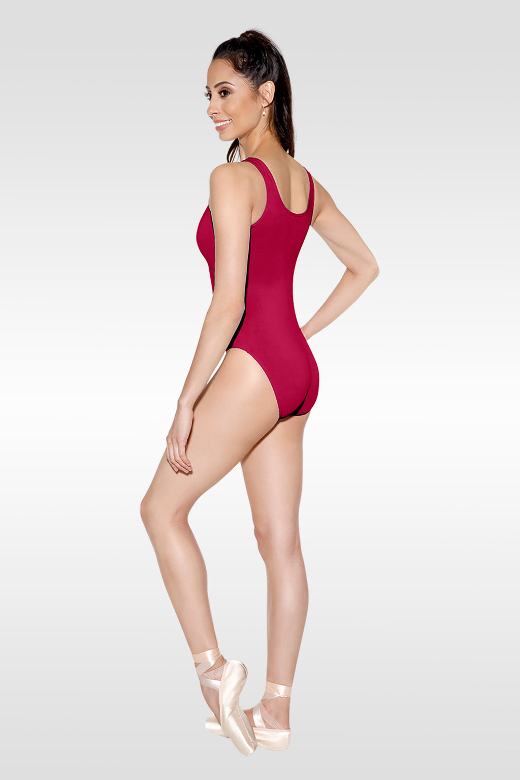 Tank Leotard with Pinch Front - Adult