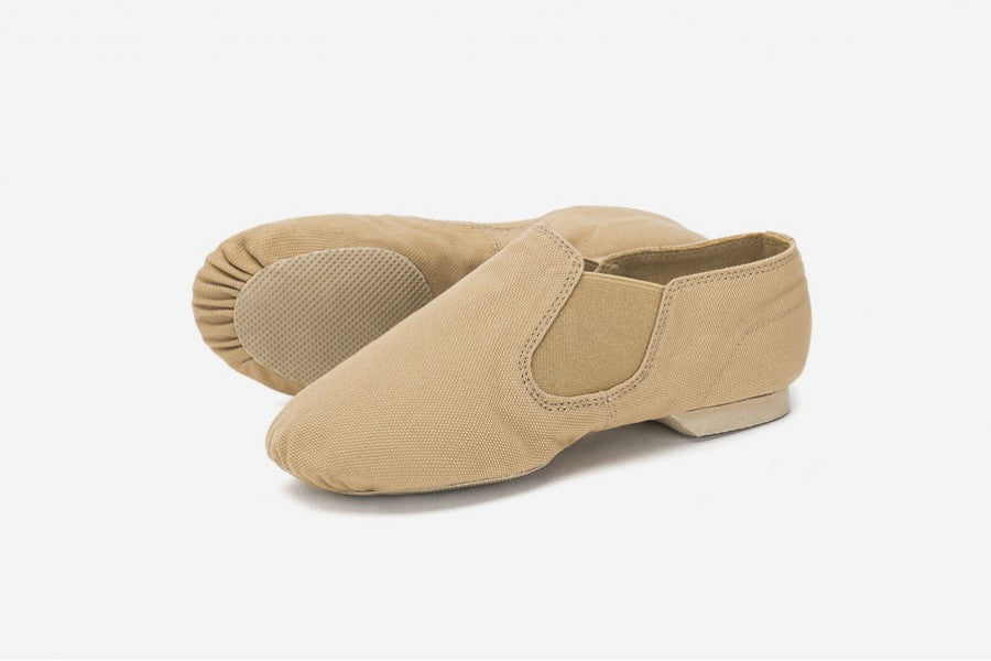 Vegan Canvas Split Sole Jazz Shoe - Adult