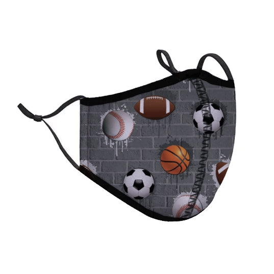 Protective Face Cover - Adult Small - Sports