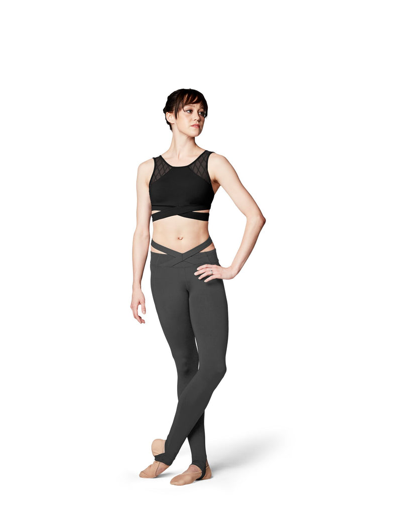 dfb49c473a Crossover Waistband Stirrup Leggings - Adult – Studio Wholesale Program