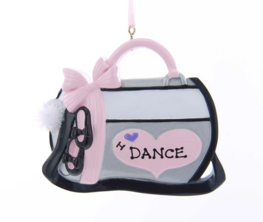 Dance Bag Ornament