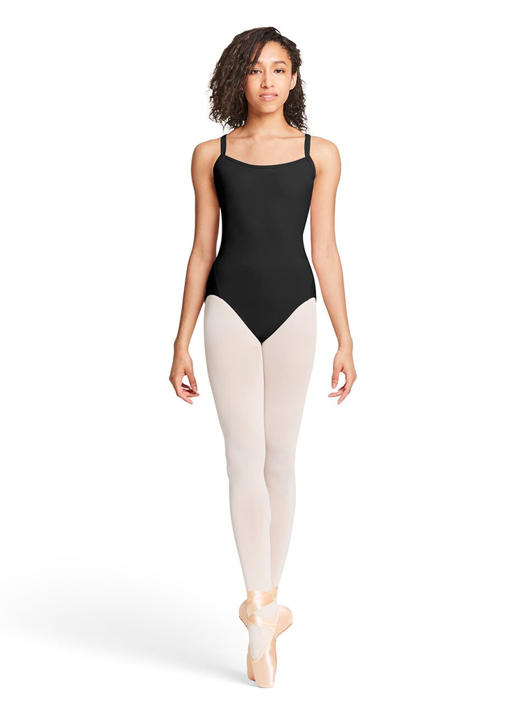 Open Ornate Mesh Back Cami Leotard - Tween